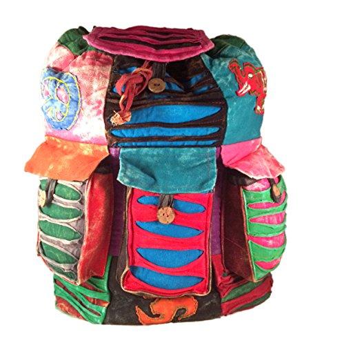 Hippy Style Woodstock Backpack