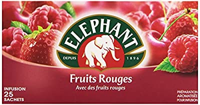Elephant Infusion Fruits Rouges 25 Sachets 45 g