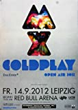 TheConcertPoster Coldplay - Live in, Leipzig 2012 |