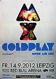 TheConcertPoster Coldplay - Live in, Leipzig 2012 | Konzertplakat | Poster Original