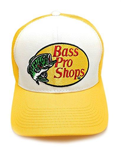 Bass Pro Shops bestickt hat (gelb)