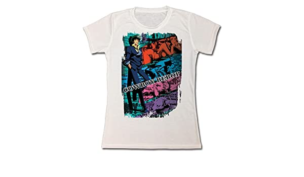 27a96a0a1 Buy Cowboy Bebop Spike Sublimation Junior White T-shirt (Size Small) Online  at Low Prices in India - Amazon.in