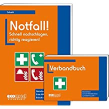 Notfall! Schnell nachschlagen, richtig reagieren!: Notrufnummern, Erste Hilfe, Brände und Unfälle (Broschüre + Verbandbuch) by Martin Schmitt (2015-11-30)