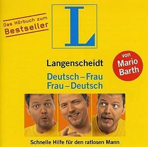 Langenscheidt Deutsch-Frau / Frau-Deutsch - Schnelle Hilfe für den ratlosen Mann