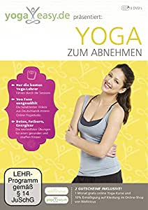yoga easy yoga zum abnehmen 3 dvds various dvd blu ray. Black Bedroom Furniture Sets. Home Design Ideas