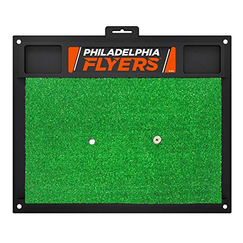 Sports Licensing Solutions, LLC NHL - Philadelphia Flyers Golf Hitting Mat 20