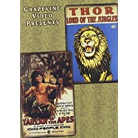 Thor, Lord of the Jungles (1913) / Tarzan of the Apes (1918) by Kathlyn Williams