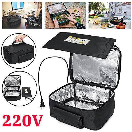 KELUNIS Almuerzo Bolsa de Horno, 220V eléctrico Mini Caja de Almuerzo portátil,...