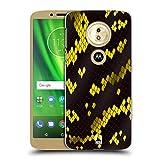 Head Case Designs Giftschlange Schlange Muster Ruckseite Hülle für Motorola Moto E5 / G6 Play