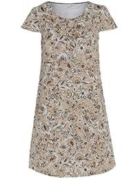 ****24, 99 £ Motif robe en lin Beige