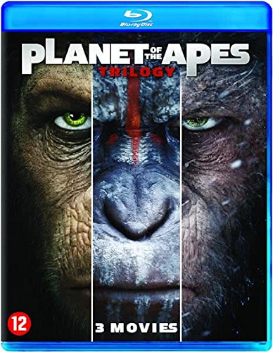 La Planete des Singes : War for Planet of the Apes - Coffret Trilogie [Blu-ray]