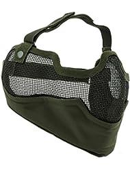 Bas de masque grillage shield v2 - vert
