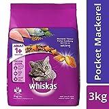 #10: Whiskas Adult Cat Food Pocket Mackerel, 3 kg Pack