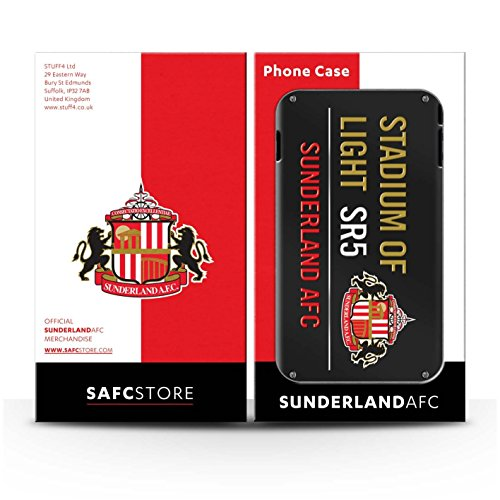 Offiziell Sunderland AFC Hülle / Gel TPU Case für Apple iPhone 6 / Pack 6pcs Muster / SAFC Stadium of Light Zeichen Kollektion Pack 6pcs