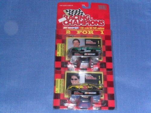 1997-nascar-racing-champions-wally-dallenbach-46-first-union-johnny-benson-30-pennzoil-1-64-diecast-