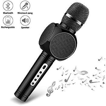 Amicool Wireless Microphone Karaoke Portable Karaoke