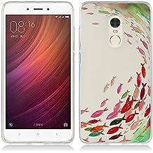 Funda Xiaomi Redmi Note 4 - Fubaoda - 3D Realzar, Estético Patrón, Gel de Silicona TPU, Fina, Flexible, Resistente a los arañazos en su parte trasera, Amortigua los golpes, funda protectora anti-golpes para Xiaomi Redmi Note 4
