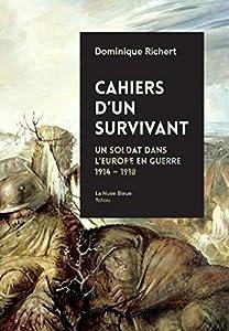 vignette de 'Cahiers d'un survivant (Dominique Richert)'