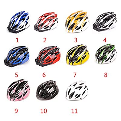 GEZICHTA Cycle Helmet, Adjustable Mountain Bike Sport Cycling MTB Unique EPS Helmet, Anti-impact Bike Bicycle Helmets for Men Women Safety Protection, 11 Colors(Pink-black) from GEZICHTA