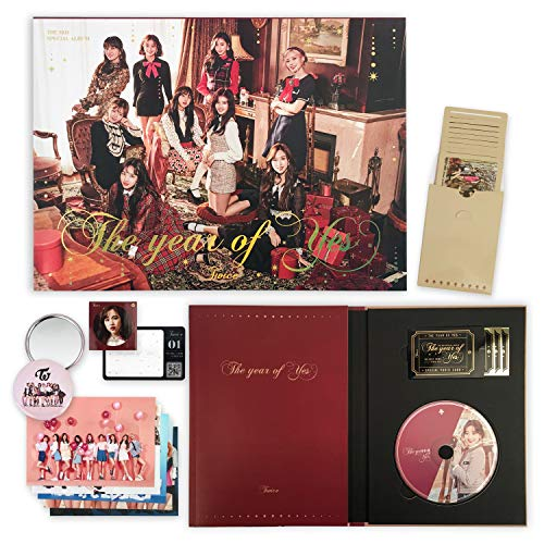 TWICE 3rd Special Album - THE YEAR OF YES [ A Ver. ] CD + Photobook + QR Code Card + Sticker + Photocard + OFFICIAL PHOTOCARDS SET + OFFICIAL POSTER + FREE GIFT / K-pop Sealed