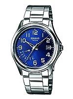 Casio Reloj Analógico para Hombre de Cuarzo con Correa en Acero Inoxidable MTP-1369PD-2B de Casio