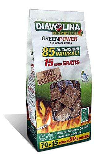 Diavolina Green Power Bag–85Zündungen natürlichen (Zündung Natürlichen)