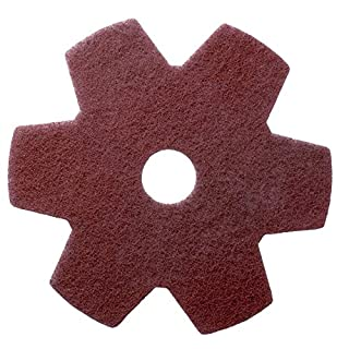 Americo Manufacturing Americo 435813 Star Pads for Twister Hybrid Floor Cleaning System, 13-inch, 2 per Pack (Made in USA)