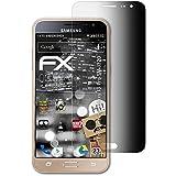 Samsung Galaxy J3 Pro Film de protection confidentiel - atFoliX FX-Undercover Vie privée à 4 voies Filtre de confidentialité