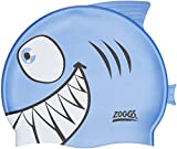 Zoggs Boy's Silicone Character Shark Swimming Cap - Blue