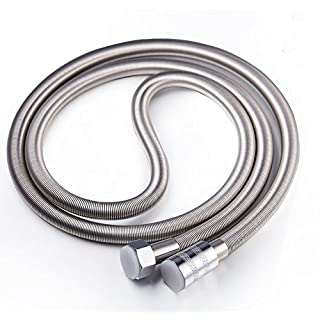 Artbath Shower Hose 2M Length Flexible Anti-kink Stainless Steel Replacement Pipe Chrome Finished