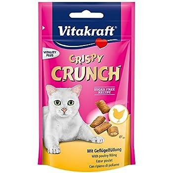 Vitakraft Crispy Crunch C½ur Poulet Friandise pour Chat 60 g