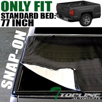 Snap-On Tonneau Cover 05-11 DAKOTA/RAIDER CLUB/EXTENDED CAB TRUCK 6.5 ft 78 BED by Topline_autopart