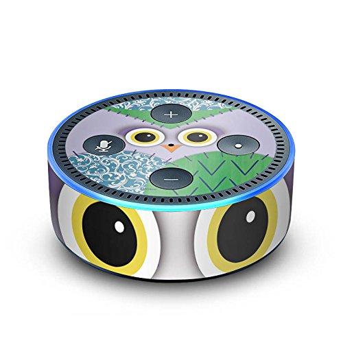 DeinDesign Amazon Echo Dot 2.Generation Folie Skin Sticker aus Vinyl-Folie Owl Eule Kinder