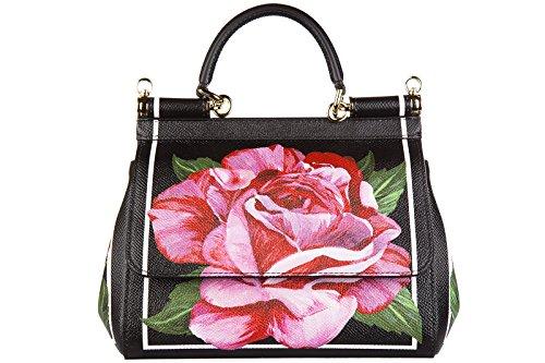 BB6003AC826HN412 Dolce&Gabbana Sac à main Femme Cuir Noir Noir