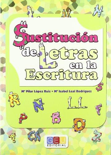 Sustitución de letras en la escritura por Mª Pilar López Ruiz