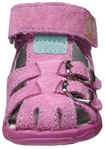 Richter Kinderschuhe Terrino, Chaussures Marche Bébé Fille Pink (candy/jade)