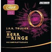 Der Herr der Ringe. Die Komplettlesung: mp3 von J.R.R. Tolkien Ausgabe ungekürzte Lesung (2011)