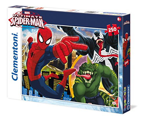 Clementoni 29681.1 - Puzzle Web Shooter Spiderman, 250 - Spider-man-shooter