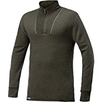 Woolpower 200 Turtleneck Long Sleeve Zipp Shirt Men - Unterwäsche, Marineblau - Einheitsgröße