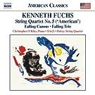 Fuchs: String Quartet No. 5 [Delray String Quartet; Christopher O'Reiley; Trio 21 ] [Naxos: 8.559733]