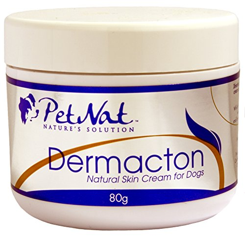 Petnat Dermacton Cream for ITCHY Dogs – Professionally recommended for itching & hair loss. Stops itching and scratching, soothes skin & promotes hair regrowth naturally