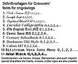 DOOSTI Partnerringe / Trauringe Chirurgischer Edelstahl 316L mit Keramikeinlage Weiß - inkl. Gratis Gravur