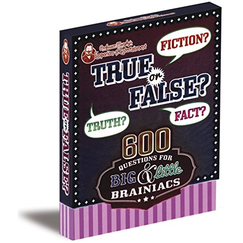 Professor Murphy's Game Cards: True or False?: 600 Questions for Big & Little Brainiacs por Parragon Books Ltd