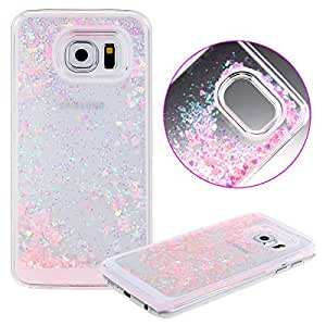 Case Cover pour Samsung Galaxy S6,Samsung Galaxy S6 Plastic Cases Covers,URFEDA Transparente