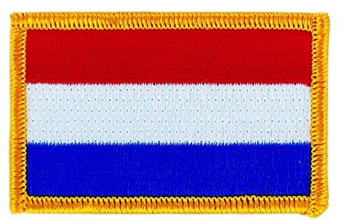 Gesticktes Patch Aufnäher/Flagge Niederlande Holland holandais backpack zum...