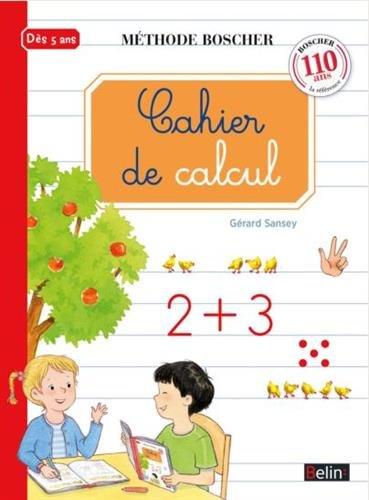 Boscher : Cahier de calcul par Gérard Sansey
