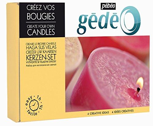 Pebeo 766015 Gedeo Kit Iceberg Kerzenset Kreieren Sie Kerzen