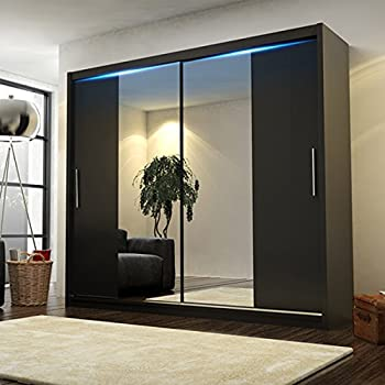 Ye Perfect Choice Brand New Modern Bedroom Mirror Sliding Doors