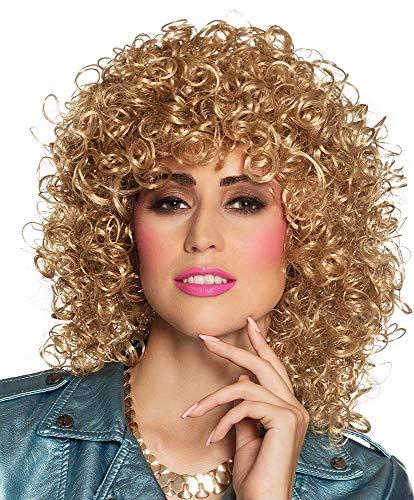 Sandy Grease Halloween - Boland 86242 Erwachsenenperücke Club, blond, One