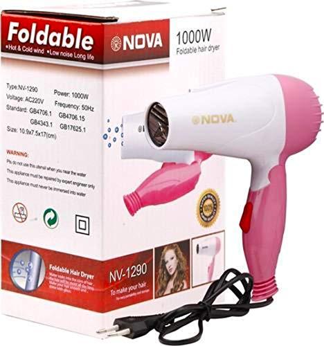 Nova Professional Hair Dryer Foldable NV-1290 1000W